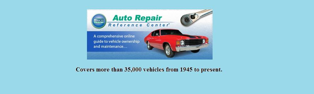 Auto repair database