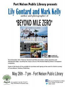 """Lily Gontard and Mark Kelly present their book """"Beyond Mile Zero"""""""