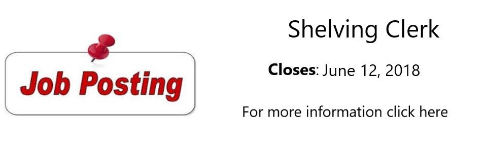 Shelving Clerk