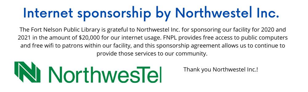 Northwestel sponsorship